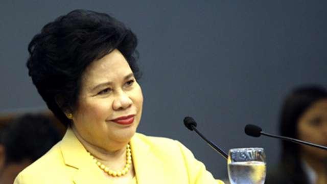 Miriam Santiago - multiple Senate terms