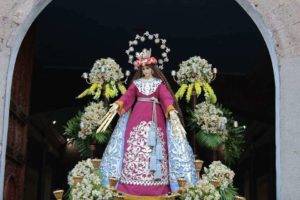 One of the images used for Flores de Mayo