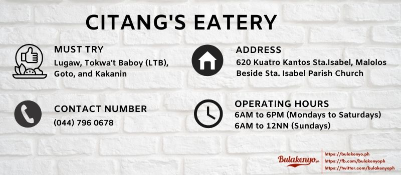 CITANG'S EATERY Malolos: The Ultimate Merienda Place since 1970 6