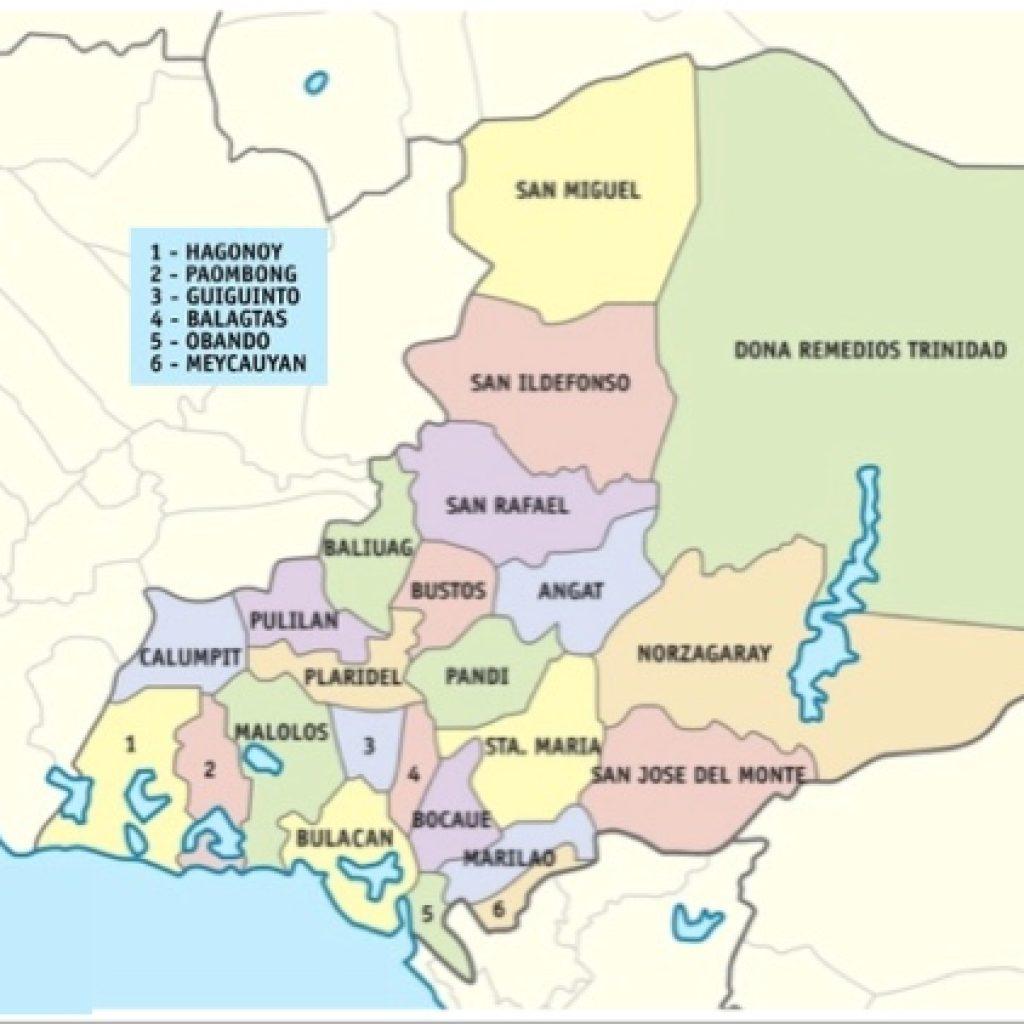 Bulacan cities and municipalities