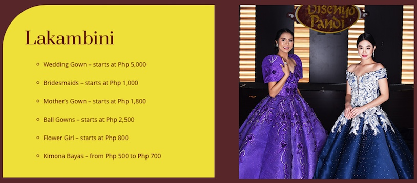 Disenyo Pandi: The One-Stop Shop for the Ultimate Elegant Wear 2