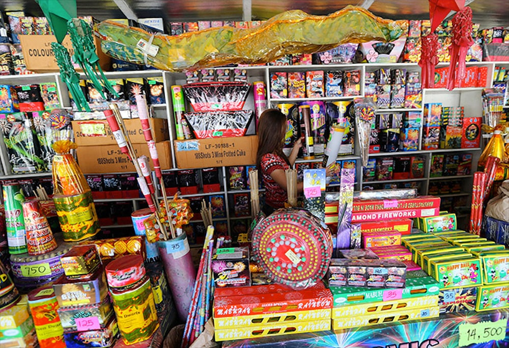 Bocaue is famous for fireworks and firecrackers industry