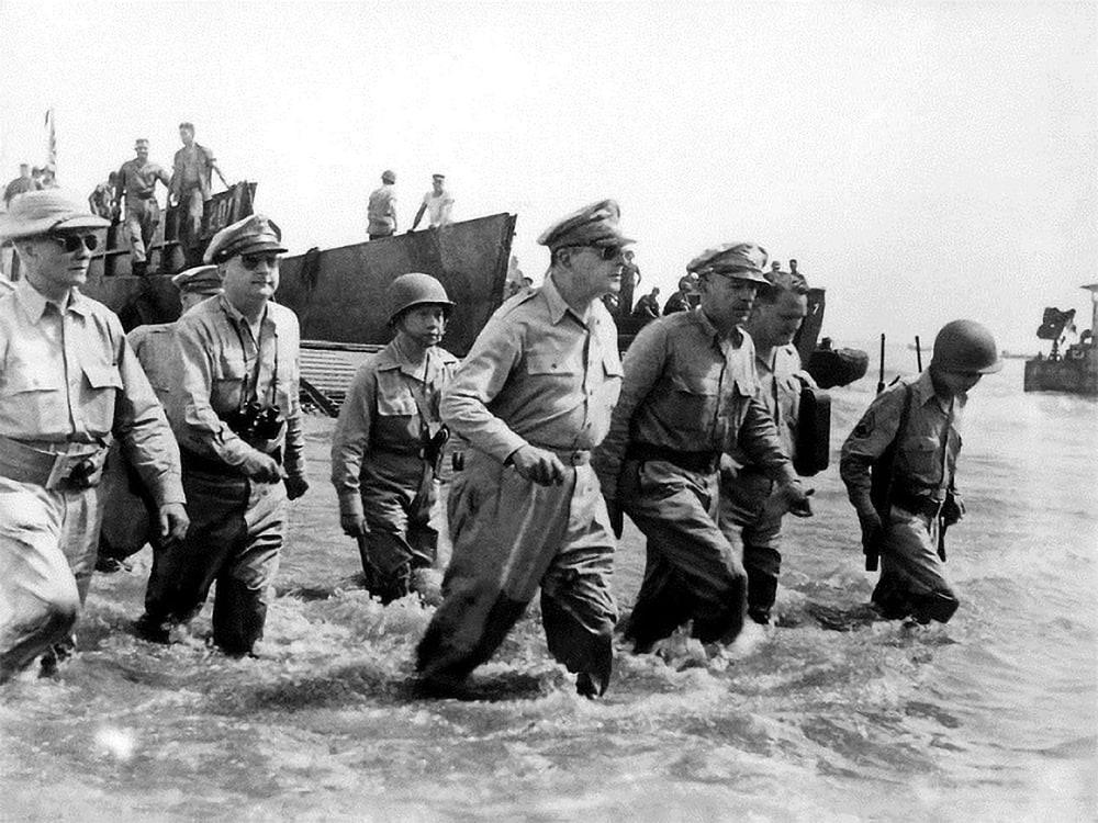 """I shall return"" -- General Douglas MacArthur"