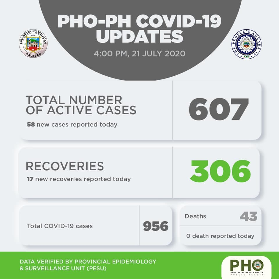 Bulacan COVID-19 Virus Journal Log Book (July to August 2020) 148