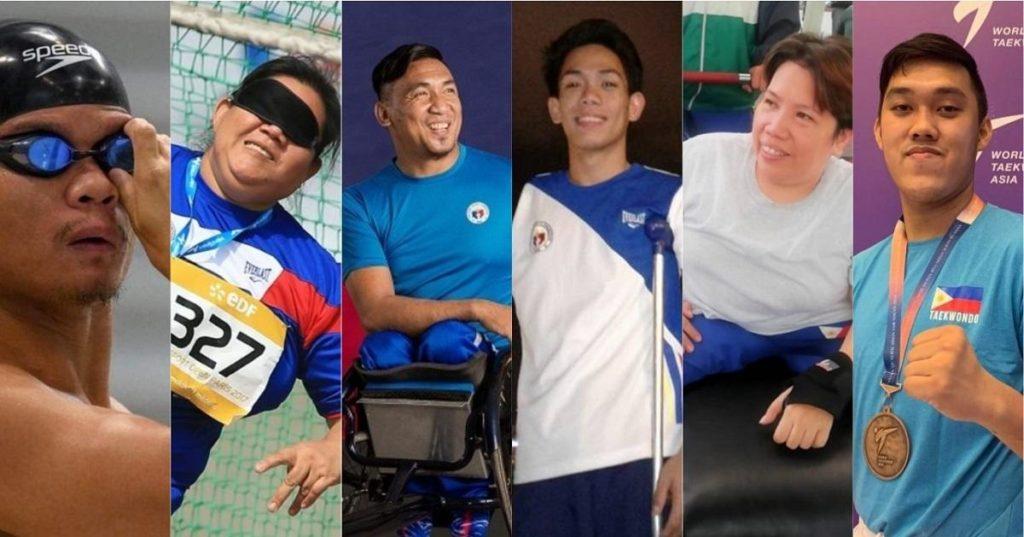 2020 Tokyo Paralympics - 6 Pilipino Athletes